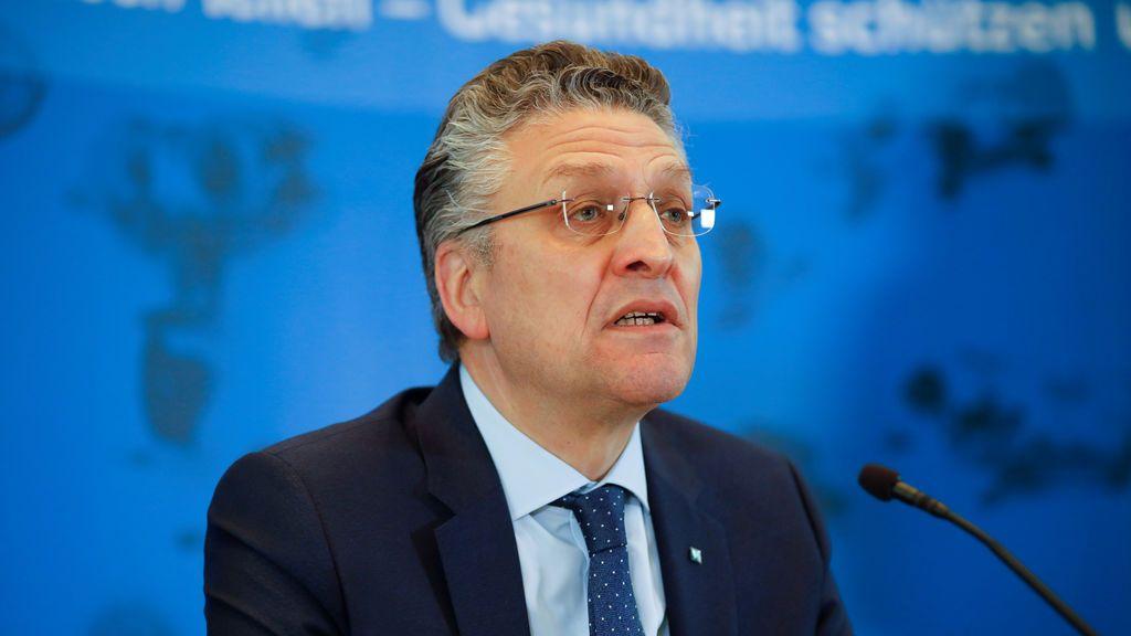 El epidemiólogo de Alemania, Lothar Wieler