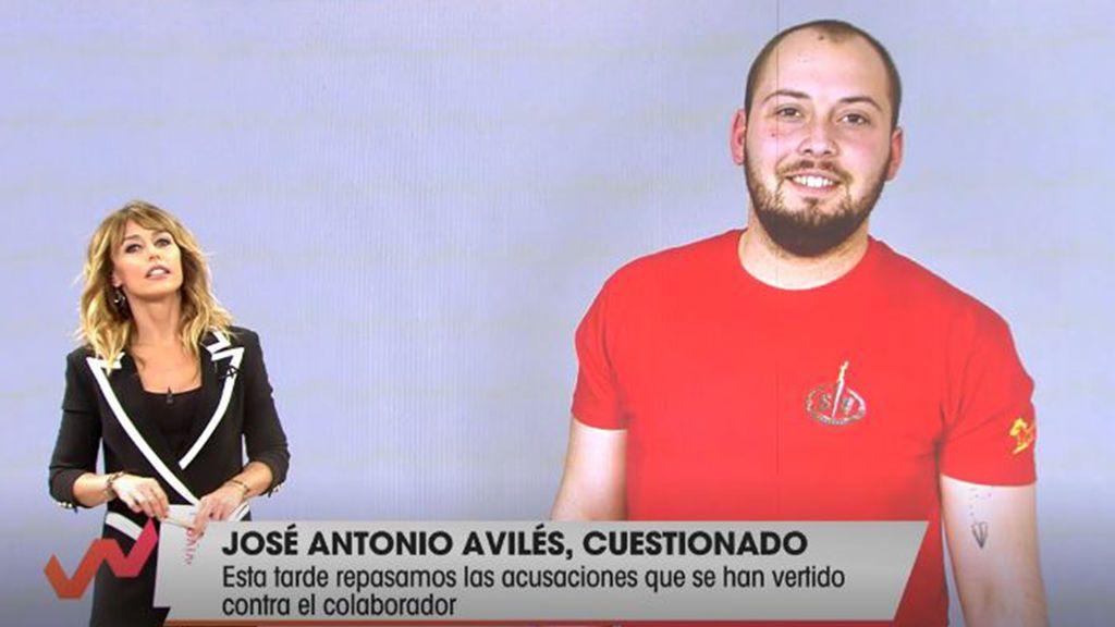 José Antonio Avilés, cuestionado Viva la vida 2020 Programa 295