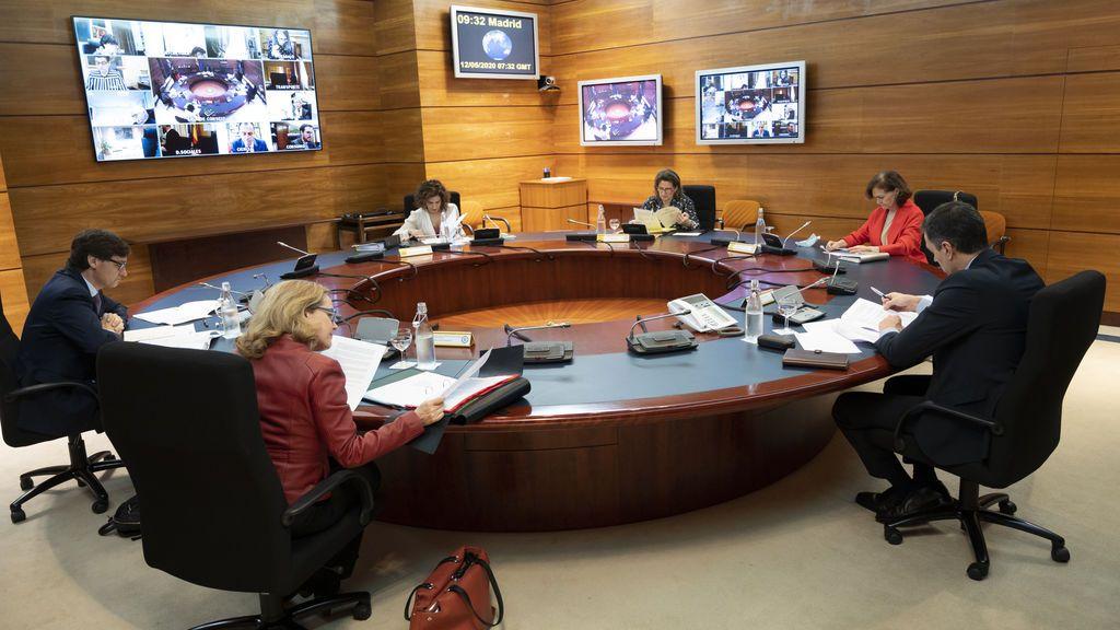 Imagen del Consejo de Ministros del 12 de mayo