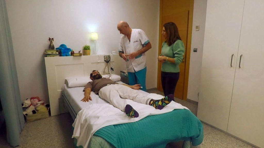 Sergio y su diagnótico por su falta de sueño