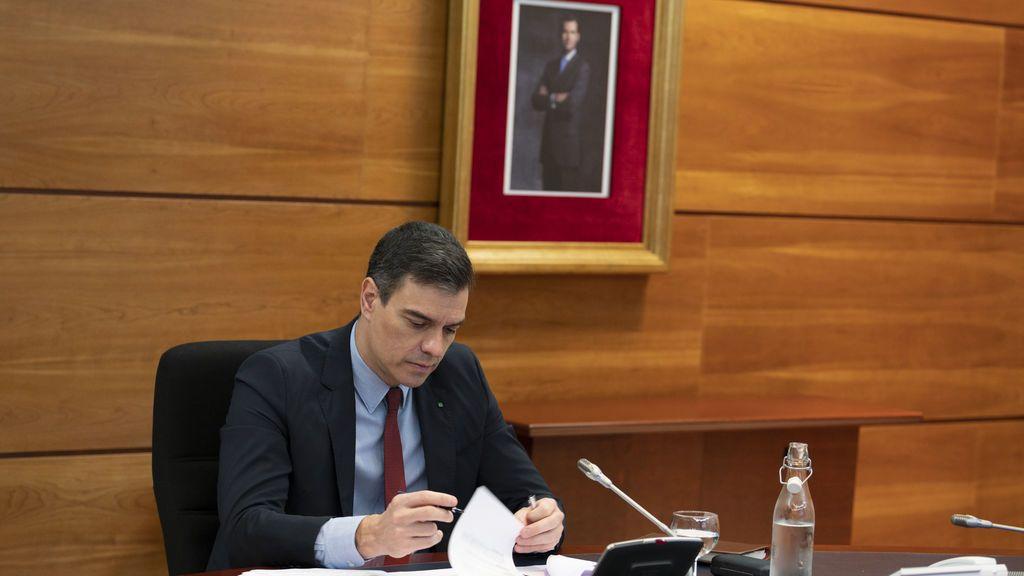 La agenda de Sánchez para a fase 1: deja de presidir diariamente el gabinete de 'dessescalada'