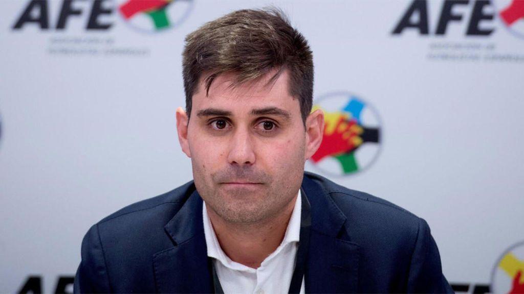 """David Aganzo, presidente de la AFE, acusado de cohecho por uno de sus propios directivos: """"Estamos muy tranquilos"""""""