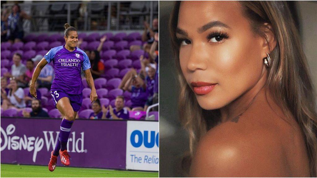 """La historia de superación de la jugadora de fútbol Toni Deion Pressley: """"Cómo luzco físicamente no es lo que me define"""""""