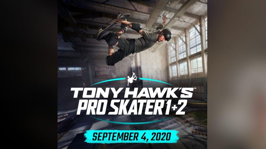 Tony Hawk's Pro Skater 1+2 llegará el 4 de septiembre