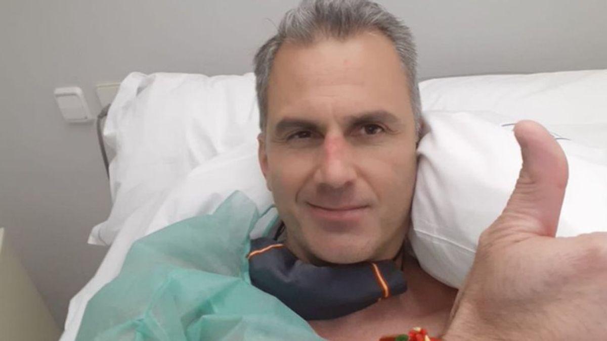 Orterga Smith ingresado por trombos en piernas y pulmones como secuelas del coronavirus