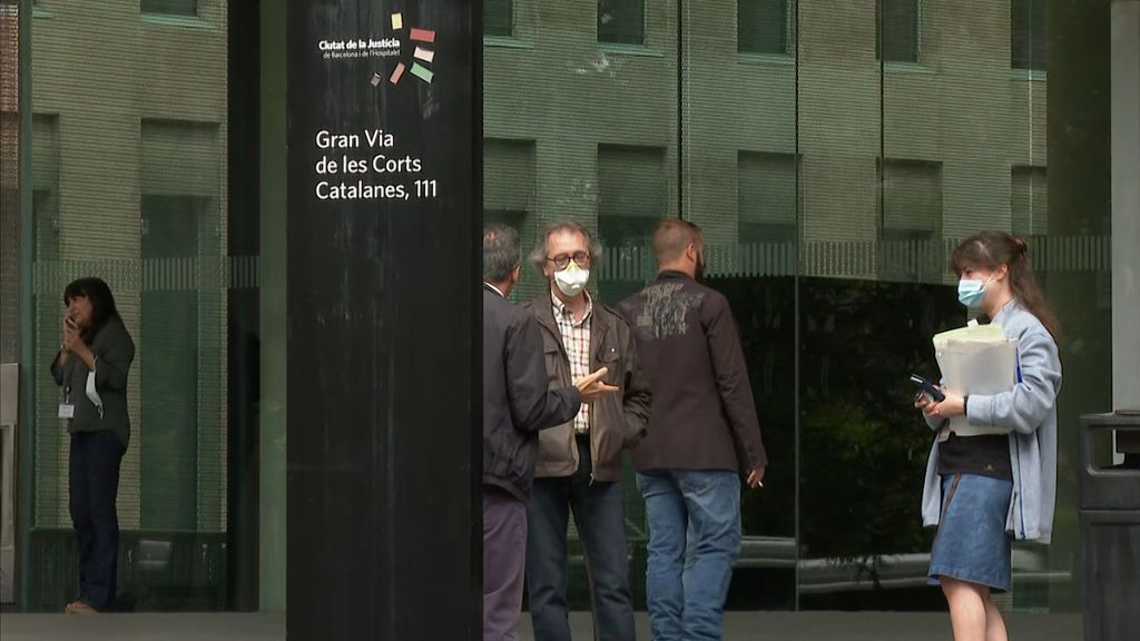 No hay suficientes mascarillas para los funcionarios de Justicia de Cataluña
