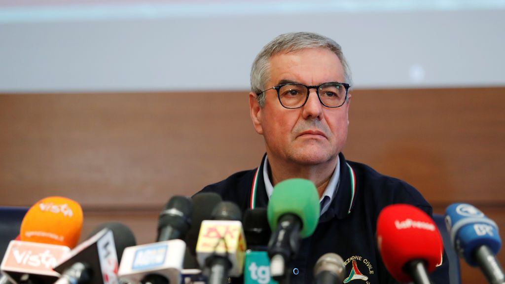 El portavoz de la crisis sanitaria en Italia, Angelo Borrelli