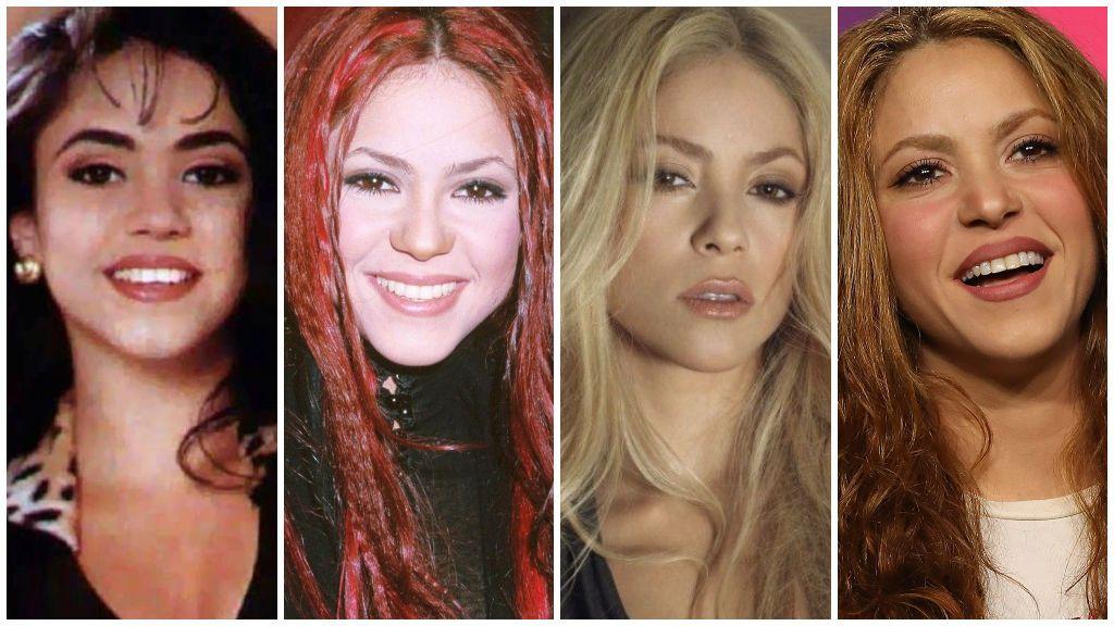 Así ha cambiado Shakira en los últimos años.