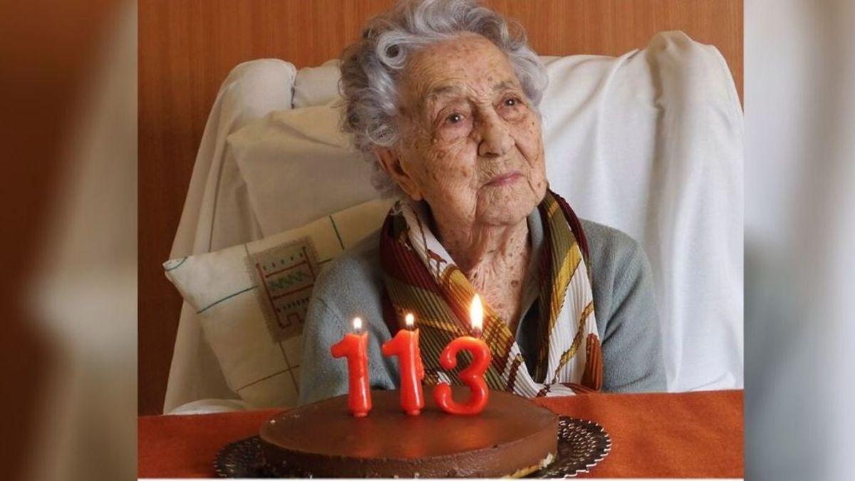María Branyas, la mujer más anciana de España sobrevive al coronavirus en una de las residencias más afectadas