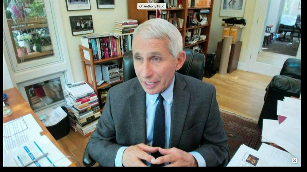 Anthony Fauci, el epidemiólogo de la Casa Blanca