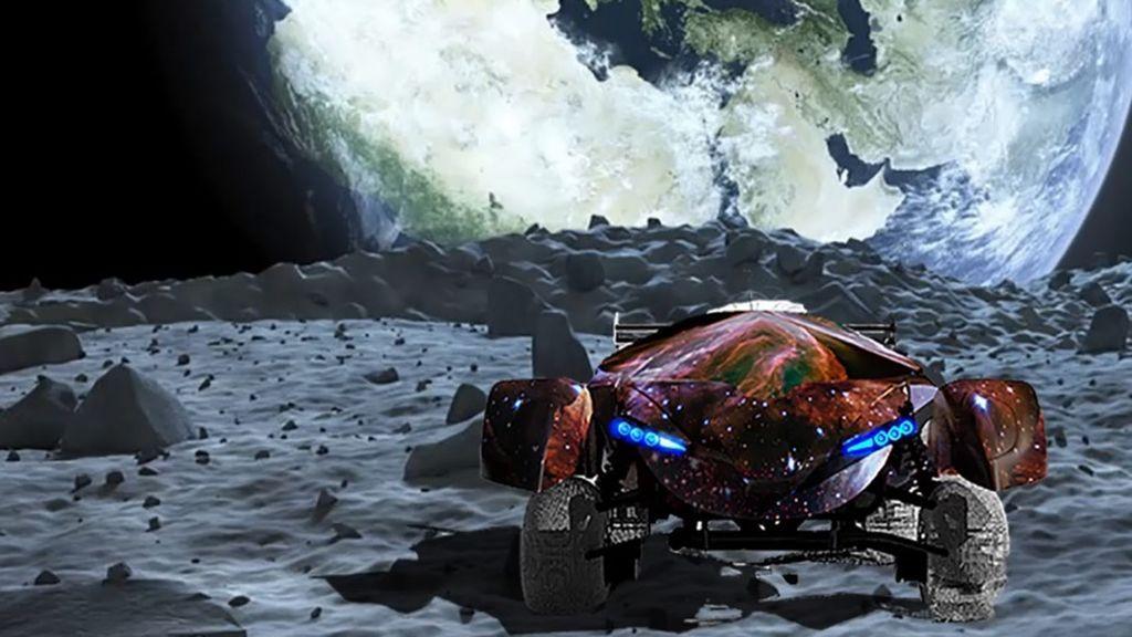 La primera carrera de coches en la Luna, en marcha: un estudiante se encargará de diseñar el vehículo