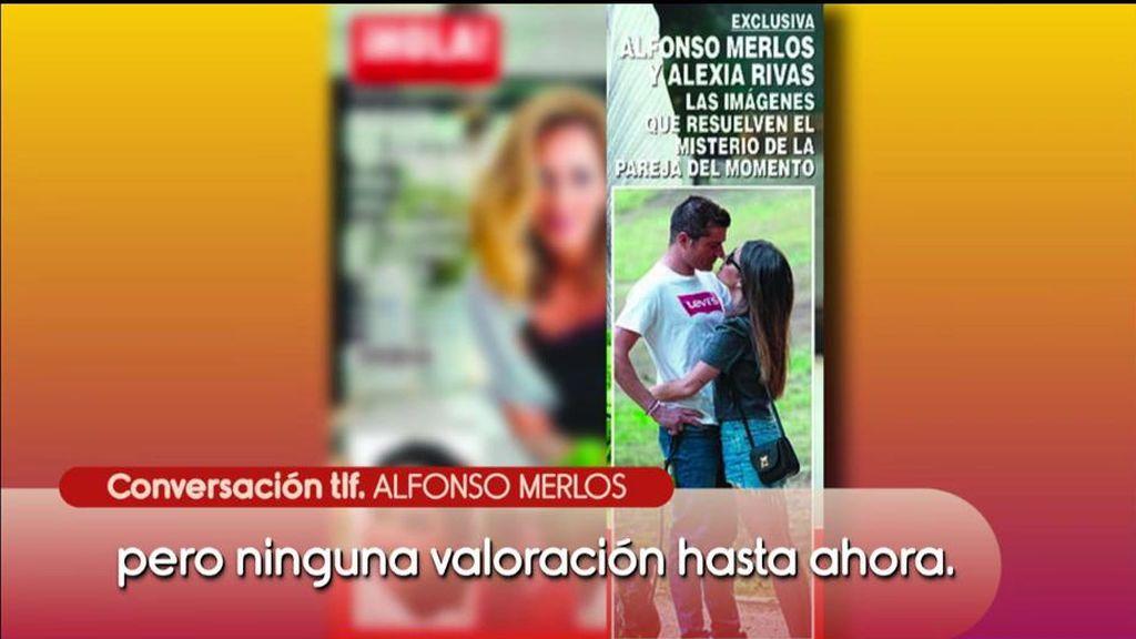 Las primeras palabras de Merlos después de las fotos con Alexia Rivas