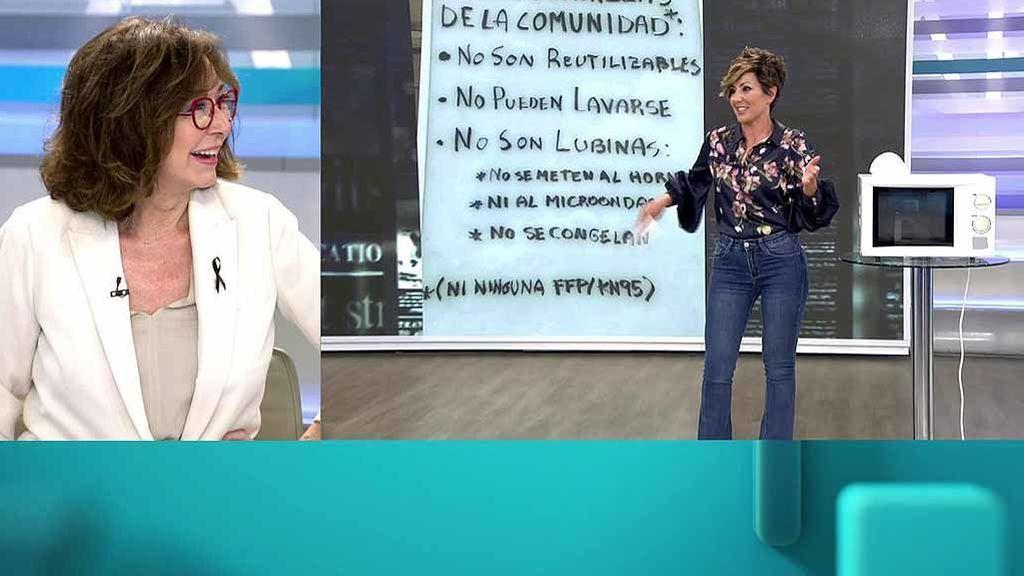 Ana Rosa Quintana se da cuenta en directo del truco de Sonsoles Ónega y se parte de risa