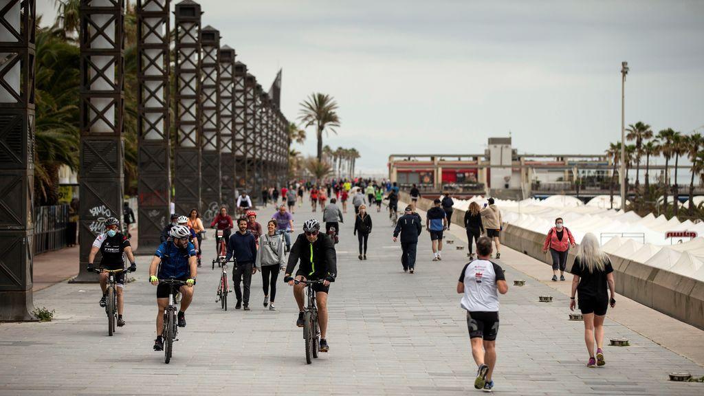Otro riesgo de la desescalada: España tiene el kilómetro cuadrado más densamente poblado de Europa