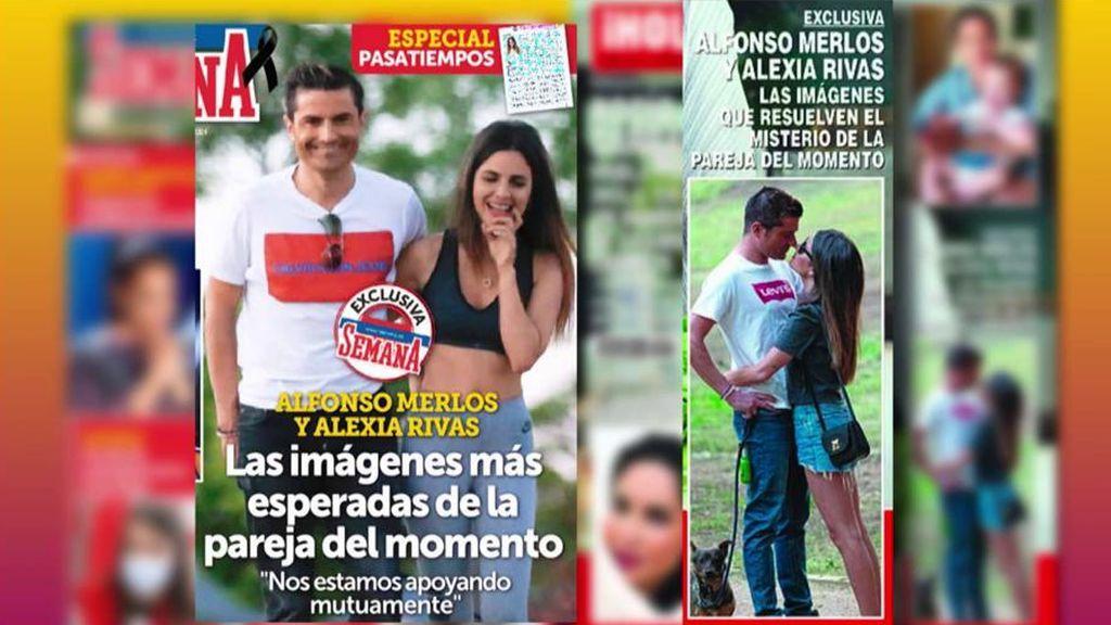 Alfonso Merlos y Alexia Rivas ya no esconden su amor: Las fotos que confirman su relación