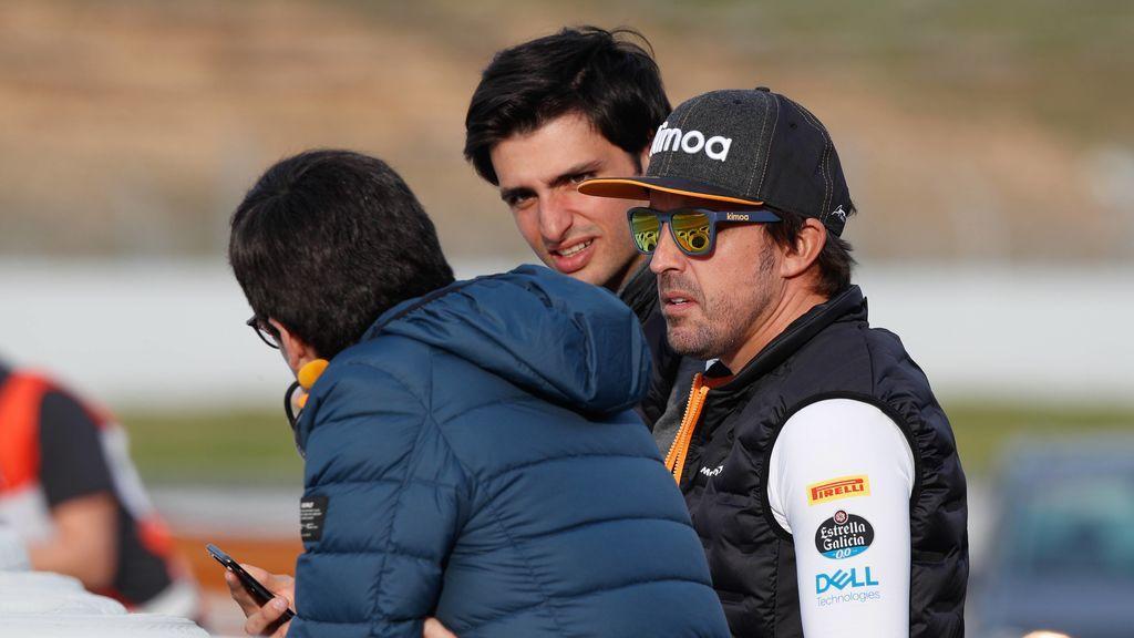 Fernando Alonso puede acabar en Renault y Carlos Sainz en Ferrari: la carambola que puede dinamitar la Fórmula 1