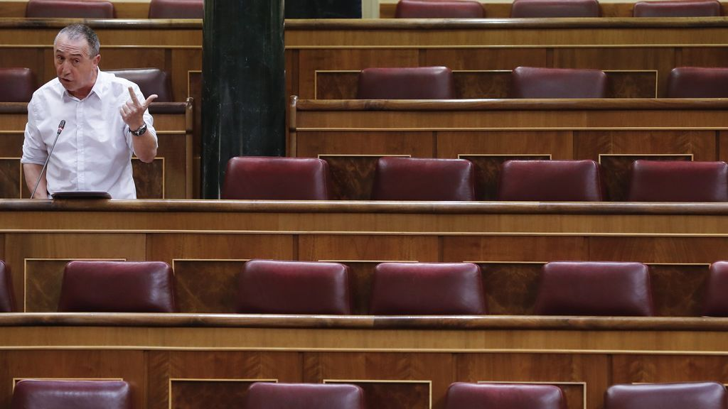 Joan Balldoví, en el Congreso