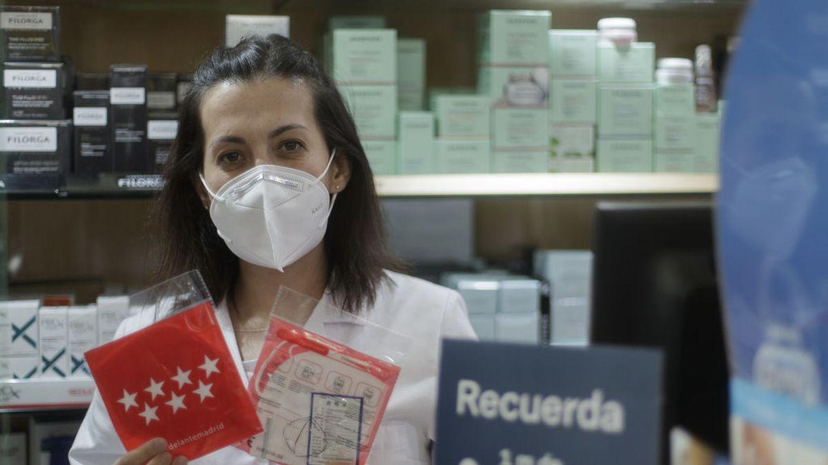 La Comunidad de Madrid, a la espera de los resultados de dos test de laboratorio sobre las mascarillas