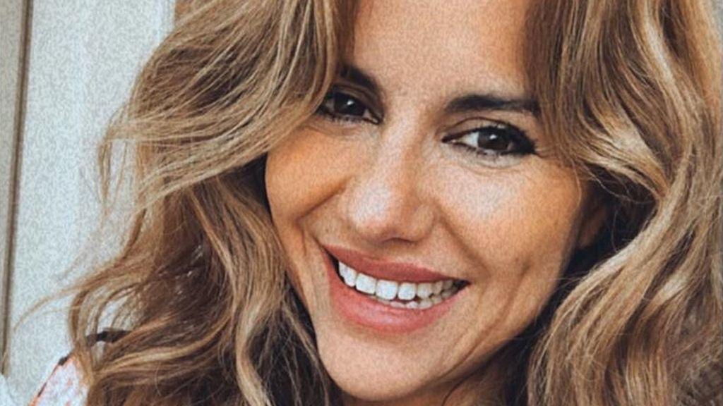 Mónica Hoyos enseña la cara de su hija Luna