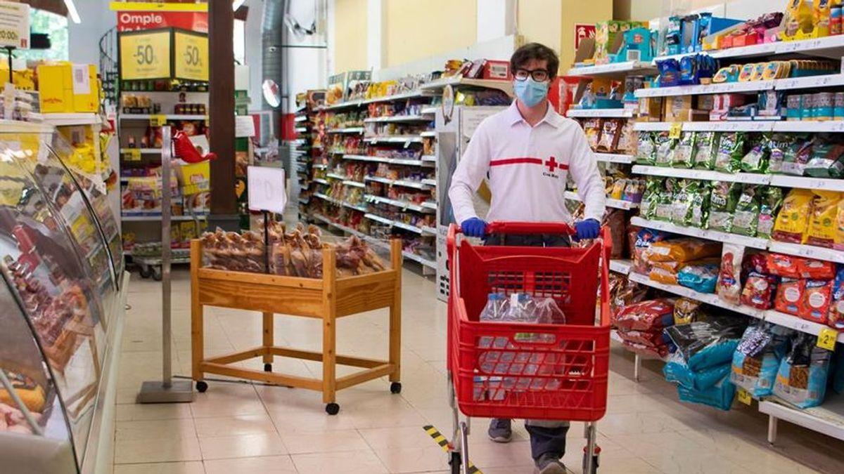 Los supermercados en época de coronavirus: compras excesivas y sin respetar la distancia mínima en los pasillos