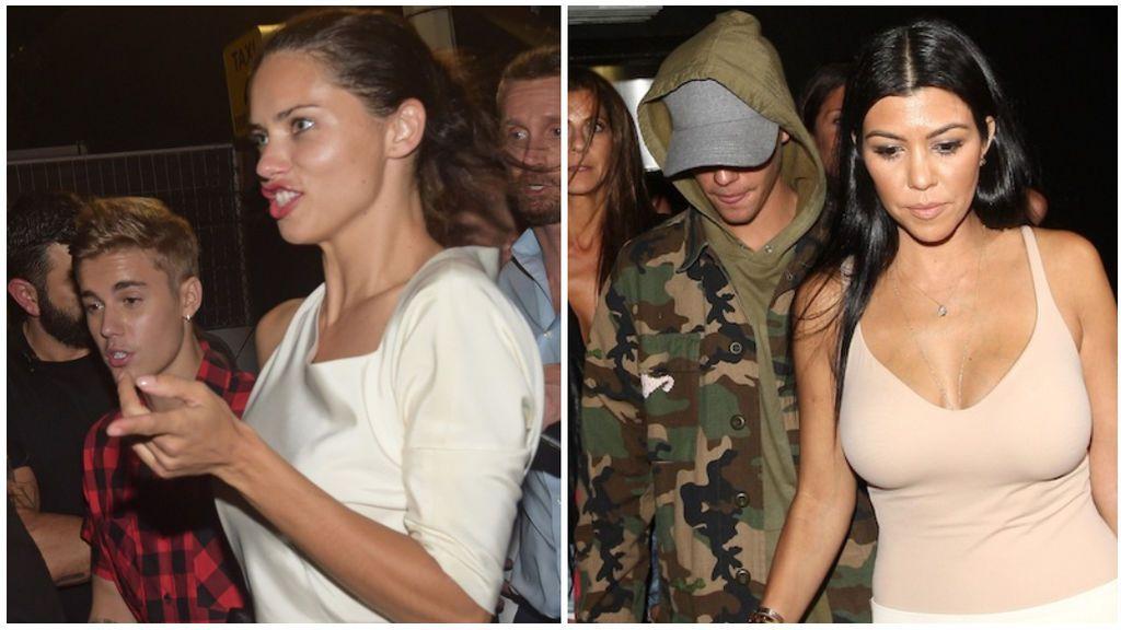 También se rumoreó que mantuvo un breve romance con Adriana Lima y Kourtney Kardashian.