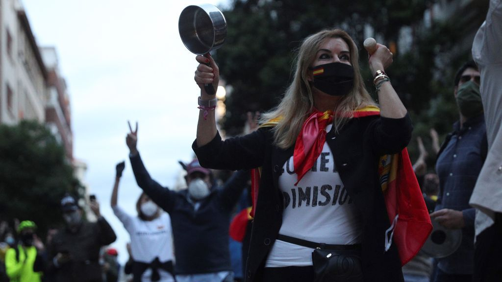 ¿Quién esta detrás de las protestas de la calle Núñez de Balboa que se saltan en confimaniento?