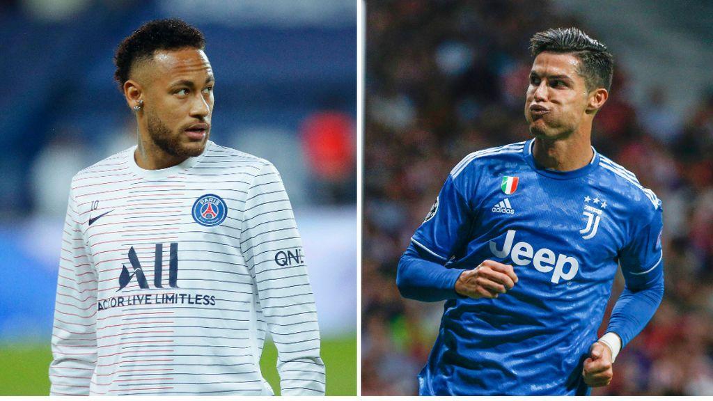 La Juventus quiere tener la pareja Cristiano Ronaldo-Neymar y estaría dispuesto a dejar salir a Dybala