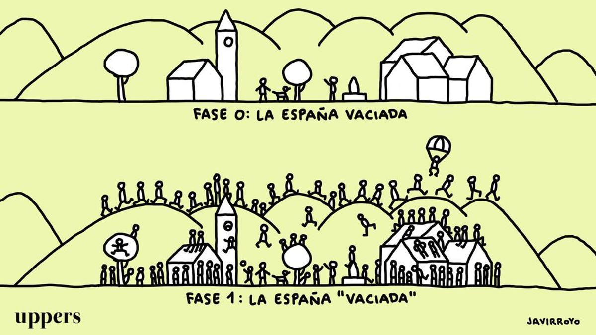La viñeta de Javirroyo: 'La España vaciada'