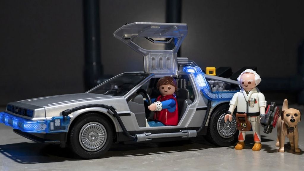 Playmobil lanza su edición especial de 'Regreso al Futuro'