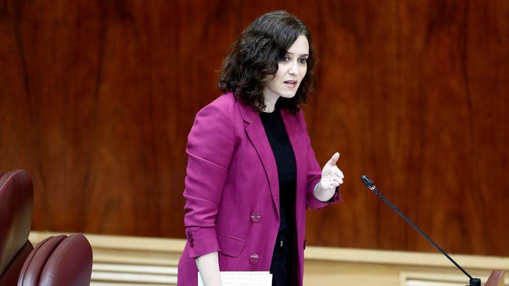 """Isabel Díaz Ayuso: """"Sanidad no parece estar dispuesta a que Madrid pase a la fase 1"""""""