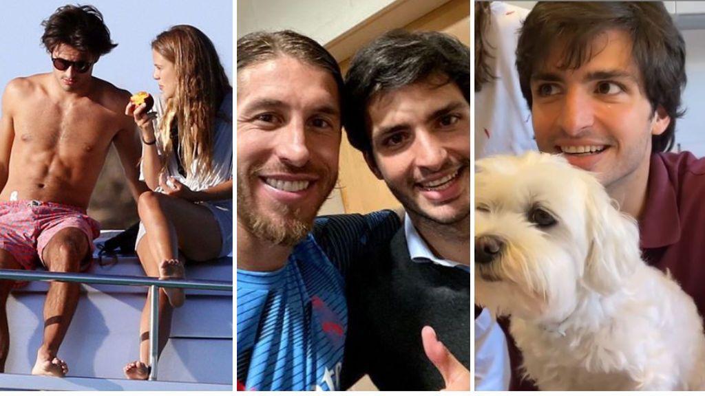 Los secretos de Carlos Sainz: su novia Isabel, su pasión por el Real Madrid y la devoción por su perrita Olivia