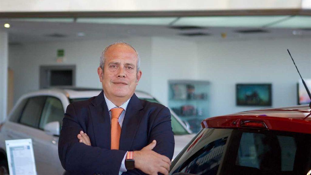 El presidente de Suzuki Ibérica, Juan López Frade