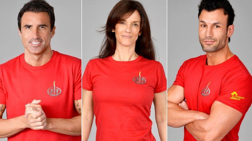 Hugo, Elena y Jorge, nominados de 'Supervivientes 2020'