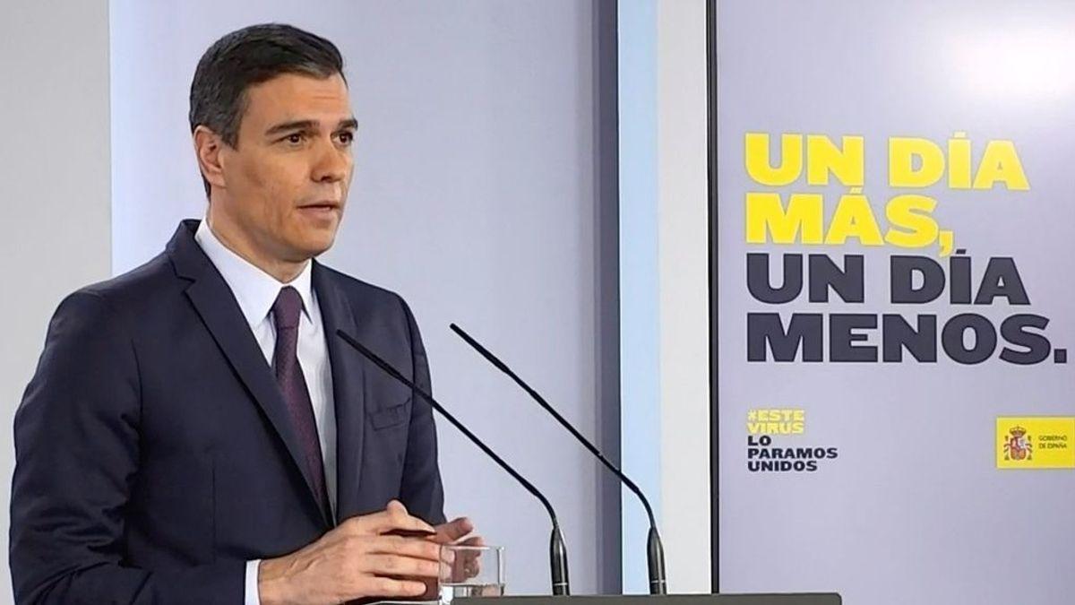 Sánchez anuncia que pedirá al Congreso la última prórroga del estado de alarma de una duración de un mes