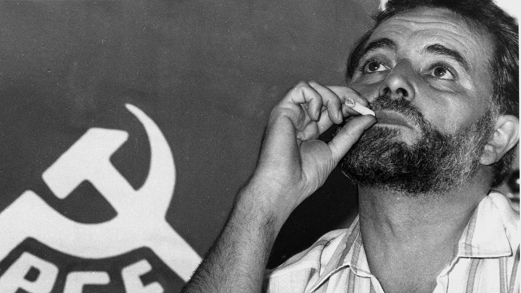 """Sánchez, Iglesias y Garzón recuerdan a Anguita: """"Nos indicó el camino que algunos quisimos seguir"""""""
