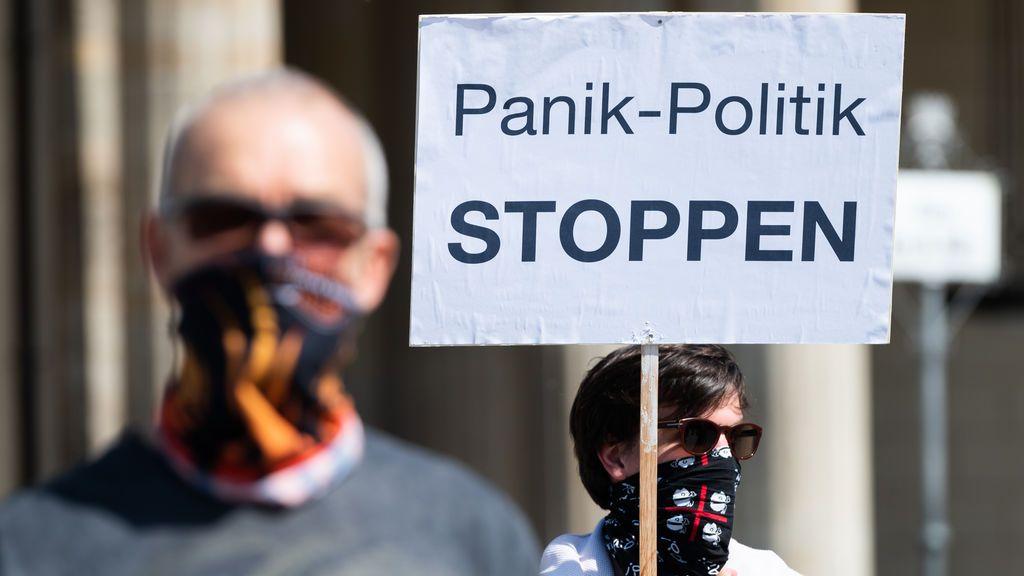 Protestas en Berlín contra las restricciones