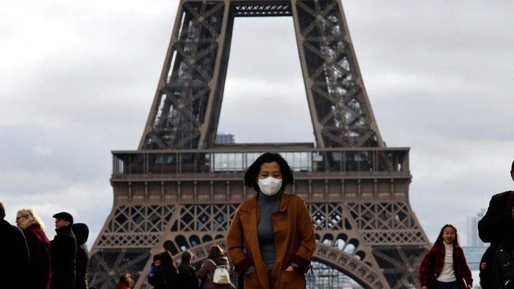 Francia reduce la cifra de muertos por coronavirus: 96 en las últimas 24 horas