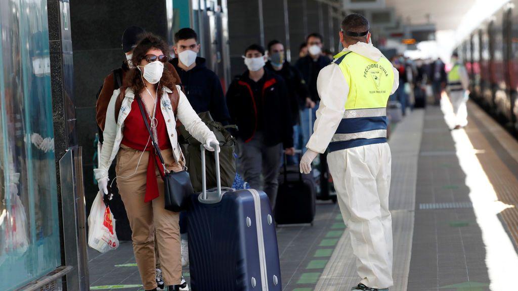 Italia no exigirá la cuarentena a viajeros que aplica España