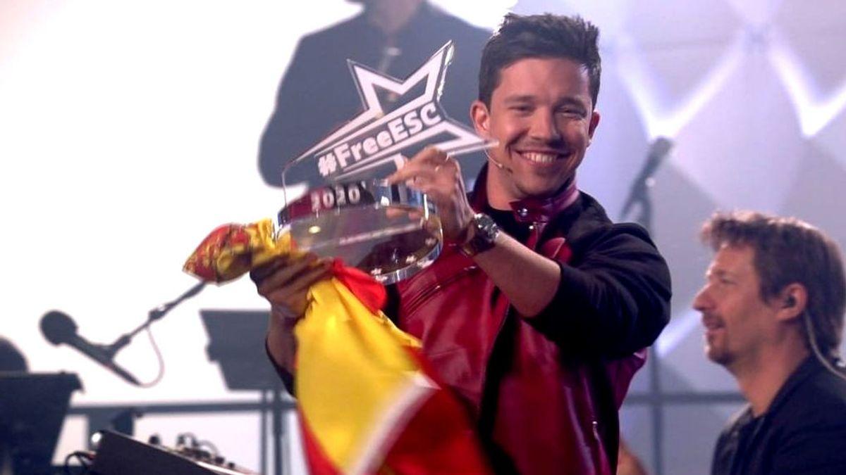 España gana Eurovisión, con Nico Santos, en el festival alternativo por la pandemia