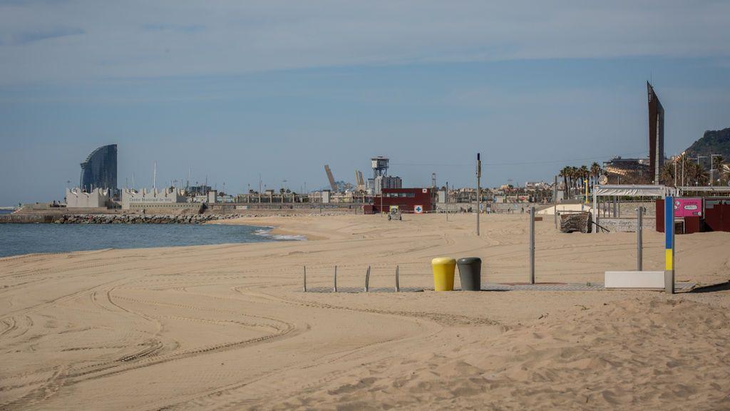 Barcelona abrirá sus playas para permitir paseos a partir del 20 de mayo