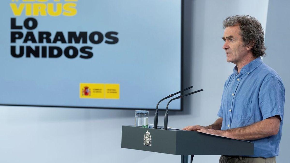 """""""No me parece muy moral, me he quedado sorprendido"""": la reacción de Fernando Simón sobre los CV en los que se presume de inmunidad"""
