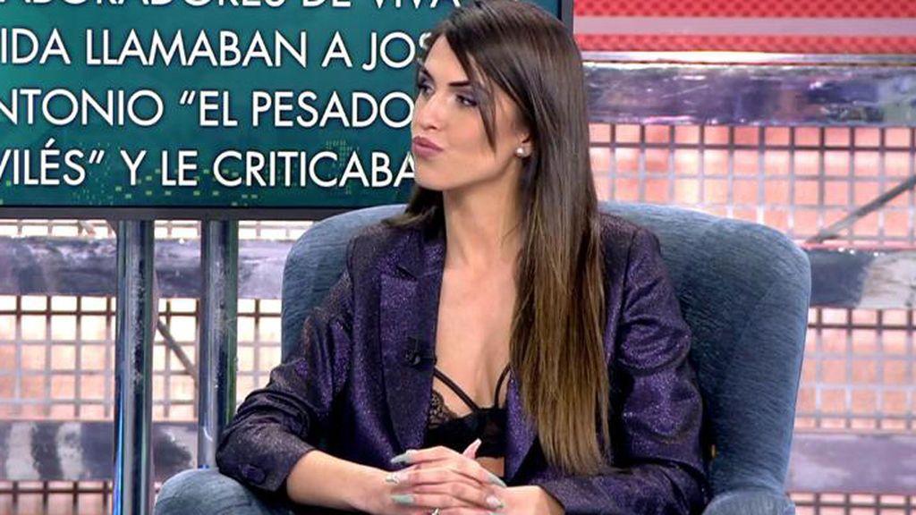 Sofía Suescun aclara si tuvo algo con Logan cuando Kiko Jiménez estaba en 'GH VIP'