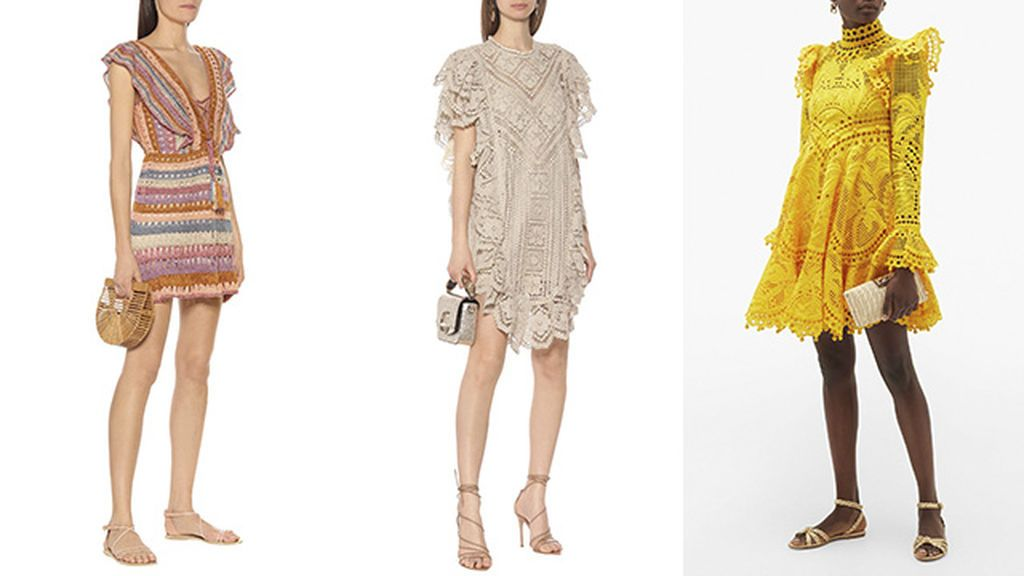 Vestidos de Anna Kosturova, Isabel Marant y Zimmermann