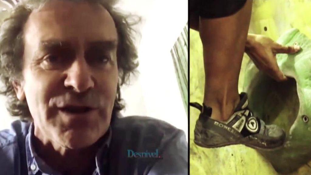 Fernando Simón durante su entrevista en desnivel.com