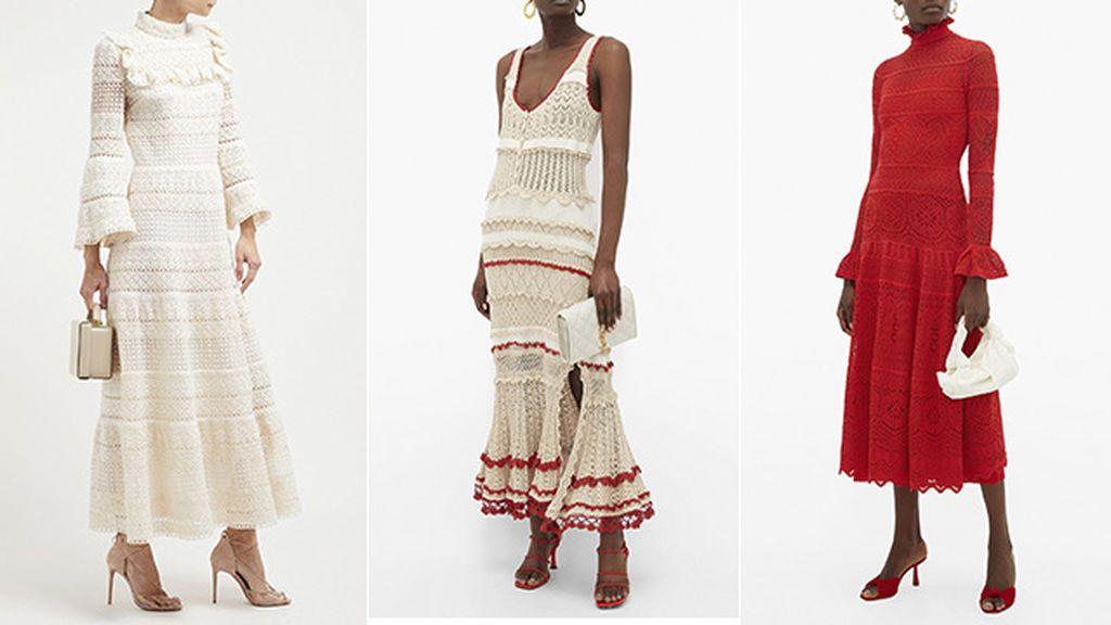 Vestidos de Giambattista Valli, Altuzarra y Alexander McQueen