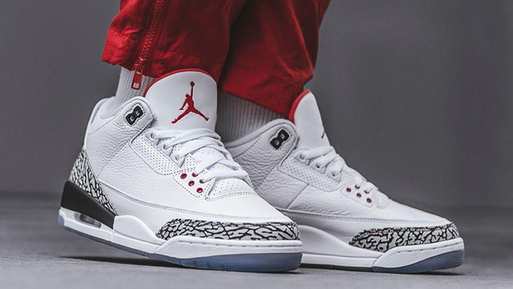Modelo de zapatillas de la marca Air Jordan