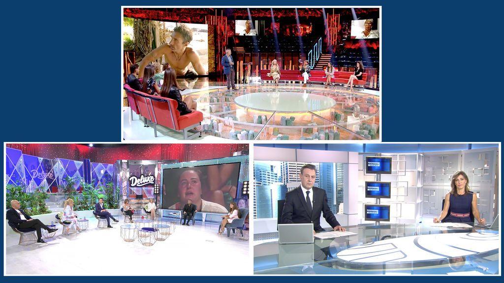 'Supervivientes: Conexión Honduras', 'Sábado Deluxe' e Informativos Telecinco, emisiones más vistas del fin de semana