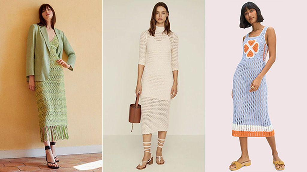 Vestidos Zara, Mango y Kate Spade