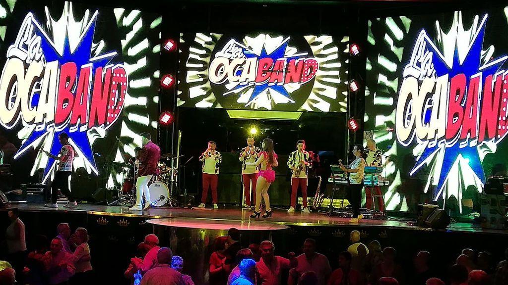 Una actuación de La Ocaband