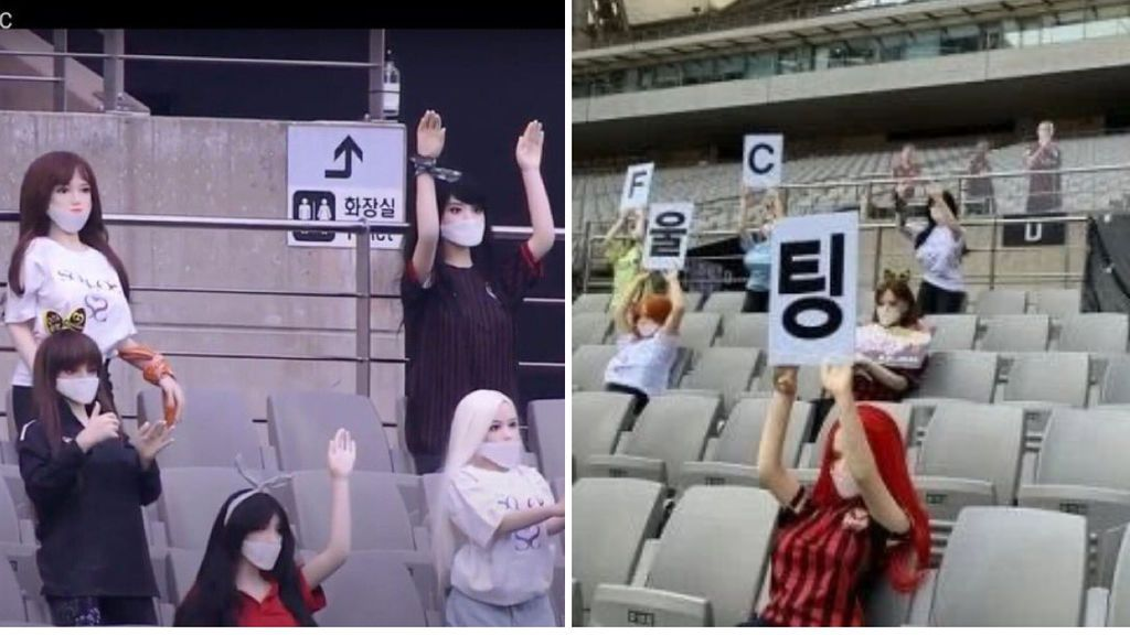 El FC Seúl pide perdón tras descubrirse que usaban muñecas hinchables para llenar las gradas de su estadio
